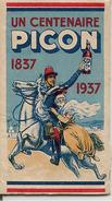 -1937-PETIT CARNET  A FEUILLES Détachables-CENTENAIRE 1837/1937-PICON-Ft 4x 7Cm-TBE - Autres