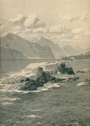 1ª W.K: Zeno Diemer Il Forte Italiano Sull'isola Trimelone Sul Lago Di Garda - 1914-18