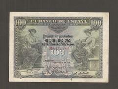 Billet De 100 Pesetas Banco De Espana Du 30.6.1906 Pick : 59 A  ( RARE ) - [ 1] …-1931 : First Banknotes (Banco De España)