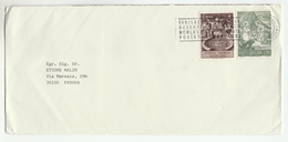 1983 VATICAN Stamps COVER With SLOGAN Pmk - Covers & Documents