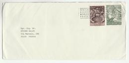 1983 VATICAN Stamps COVER With SLOGAN Pmk - Vatican