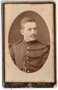 Photo CDV - Le Gendarme Edmond MAILLARD De BEAUCOURT - Guerre, Militaire