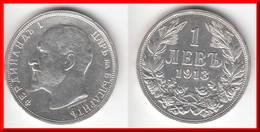 **** BULGARIE - BULGARIA - 1 LEV 1913 FERDINAND I - ARGENT - SILVER **** EN ACHAT IMMEDIAT - Bulgarie