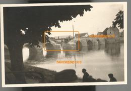 WW2 Top! PHOTO ORIGINALE ALLEMANDE Pont Ko à MONTRICHARD Près Blois Tours LOIR ET CHER 1940 - 1939-45