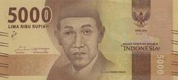 * INDONESIA 5000 RUPIAH 2016 P-156a UNC  [ID611a] - Indonesia