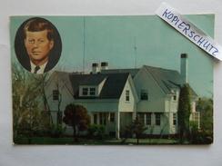 President John F. Kennedy´s Summer Home At Hyannisport (on Cape Cod), Massachusetts, 1962 - Cape Cod
