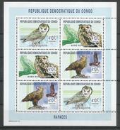 Zaire / Congo Kinshasa / RDC - COB 2160/62 Feuillet De 2 Séries Complètes - MNH / ** 2003 - COB: 34,00€ Oiseau Bird