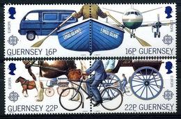 Guernsey 419/422 ** MNH. 1988 - Guernsey
