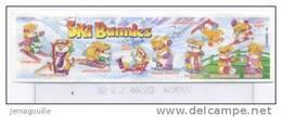 KINDER - Ski Bunnies - Bpz Sans Figurine - Notices