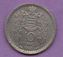 MONACO - 10 FRANCS 1946 - 1949-1956 Old Francs