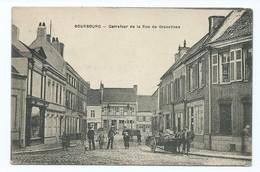 2771 - Bourbourg Carrefour De La Rue De Gravelines WW1 Bieux Marseille Cachet Centre De Fabrication COA - Autres Communes