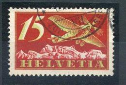 2550  -  SUISSE  PA N°3 ° 15c Rouge ,olive Et Carmin     SUPERBE