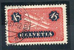 2554  -  SUISSE  PA N°8 °  45c  Rouge Et Bleu-noir     SUPERBE