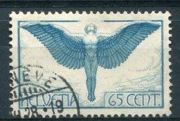 2558  -  SUISSE  PA N°10a  65c  Bleu-vert Et Bleu      TTB
