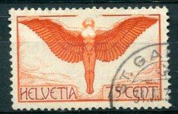 2560 -  SUISSE  PA N°11a ° 75c  Rouge,brun Et Violet      TTB