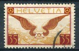 2564 -  SUISSE  PA N°13a °   35c  Brun-rouge Et Bistre      TTB