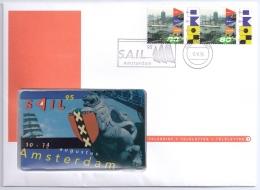 Netherlands 1995 Mi. 1548 TeleCard FDC, Sailing Regatta Sail '95 Port Amsterdam