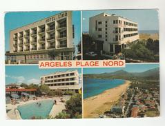 1981 FRANCE Stamps COVER Postcard GRAND HOTEL DE LIDO Argeles Plage Nord - France