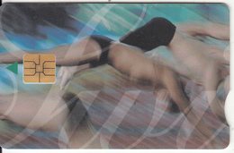 SOUTH AFRICA - Olympics 2000/3 Swimmers, Telkom Telecard, Exp.date 05/02, Used - Jeux Olympiques