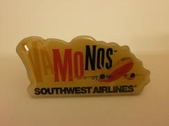 Pins PIN'S PIN Southwest Airlines Advertising Pin Vintage - Luftfahrt