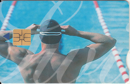 SOUTH AFRICA - Olympics 2000/Swimmer 3, Telkom Telecard, Exp.date 06/02, Used