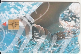 SOUTH AFRICA - Olympics 2000/Swimmer 2, Telkom Telecard, Exp.date 07/02, Used