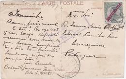 POSTCARD PORTUGAL MOZAMBIQUE MOÇAMBIQUE -  To - ERMESINDE  -  CENSURA - Mozambique