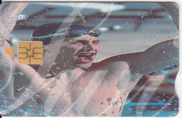 SOUTH AFRICA - Olympics 2000/Swimmer 1, Telkom Telecard, Exp.date 05/02, Used
