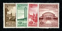 16500  3rd Reich 1938  Michel #665-68 (*) ( Cat 4.€ ) Offers Welcome - Deutschland