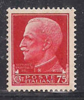 REGNO D'ITALIA   1929  IMPERIALE SASS. 252  MLH XF - 1900-44 Vittorio Emanuele III