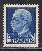 REGNO D'ITALIA   1929  IMPERIALE SASS. 253  MLH XF - 1900-44 Vittorio Emanuele III