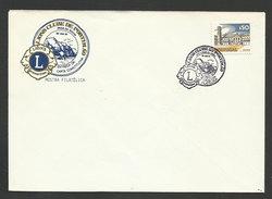 Portugal Cachet Commémoratif Lions Portimão Algarve 1981 Event Postmark Lions - Rotary Club