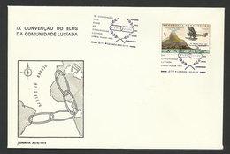 Angola Portugal Cachet Commémoratif Elos Club 1973 Event Pmk