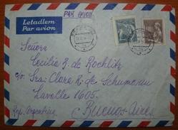 Letter - Cover - Sobre De Checoslovaquia 1956 - Enviada A Buenos Aires