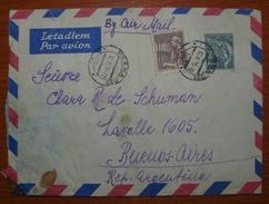 Letter - Cover - Sobre De Checoslovaquia