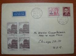 Letter - Cover - Sobre De Checoslovaquia 1953