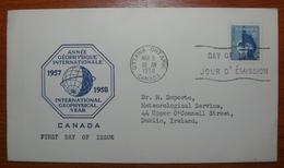 Letter - Cover - Sobre Primer Día De Canada 1958