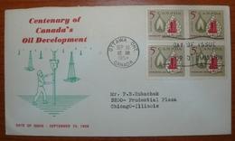 Letter - Cover - Sobre De Canada 1958