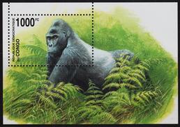 3432  - CONGO MNH SOUVENIR SHEET 30.08.2002 GLOBAL NATURE PROTECTION - EASTERN LOWLAND GORILLA