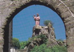 43---LE PUY EN VELAY--statue Notre Dame De France--voir 2 Scans - Le Puy En Velay