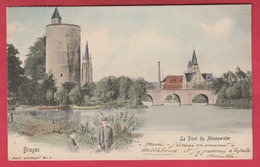 Brugge / Bruges - Le Pont Du Minnewater - 1904 ( Verso Zien ) - Brugge