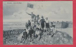 Oostende / Ostende - Jeux De Plage... Geanimeerd - 1913 ( Verso Zien ) - Oostende