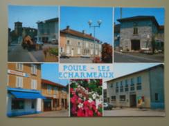 RHONE POULE LES ECHARMEAUX - Other Municipalities