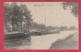 Mechelen A / Maas - Kanaal .... Binnenschipen - 1918 ( Verso Zien ) - Maasmechelen
