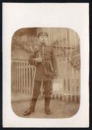 2942 - Alte Foto Ansichtskarte - Uniform Post Postbote Kurier ? - Fotografie