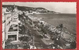 NICE  -  La Promenade Des Anglais - Photo Véritable - Nizza