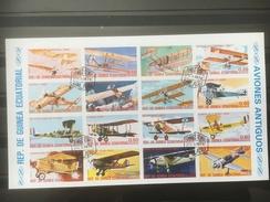 GUINEE EQUATORIALE. Avions - Equatorial Guinea