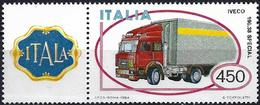 Italy 1984 - Truck Iveco ( Mi 1875 - YT 1605 ) MNH** + Label