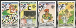 1990 Seychelles Literacy Year Education Complete Set Of 4 Stamps MNH