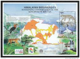 Bhutan 2001**, Ökologische Vielfalt Bhutans / Bhutan 2001, MNH, Biodiversity Of Bhutan